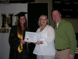L-R: Brooke Henry, Betsy Brumley-Bernier, Kevin Bernier