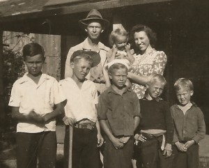 Brumley Family early 1940s