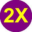 IFAF T-Shirt purple 2X