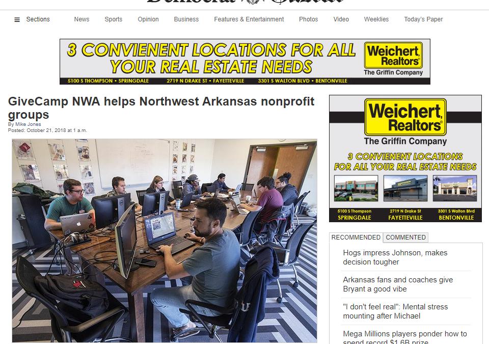 GiveCamp NWA 2018